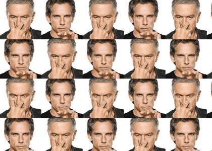 * Ben Stiller versus De Niro *