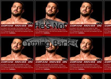 Hassan has left WWE permanently :(