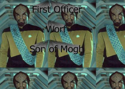 First Officer Worf
