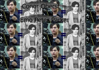 Conor Oberst = Emo Peter Parker