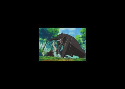 Anime Bear Attack