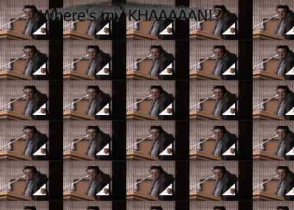 KHANTMND: Kirk is too easy to make fun of