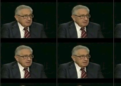 Kissinger says too much