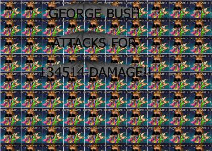 Attack of George Bush