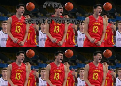 Yao is pissed -- OH NOES