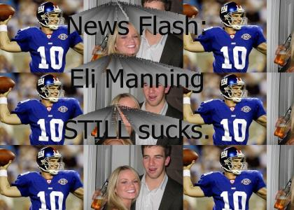 Vital Information Regarding Eli Manning of the New York Giants...