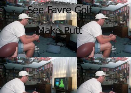 Brett Favre plays NES in 1991