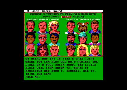 This was why DOS games were the best.