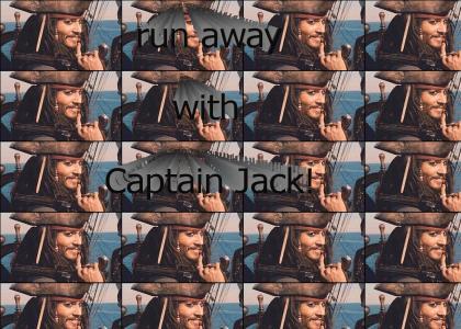 Run Away with Captain Jack!