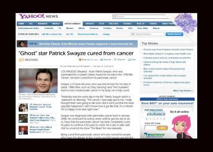 PTKFGS: Patrick Swayze Cured!