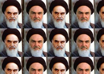 Ayatollah=Sean Connery?