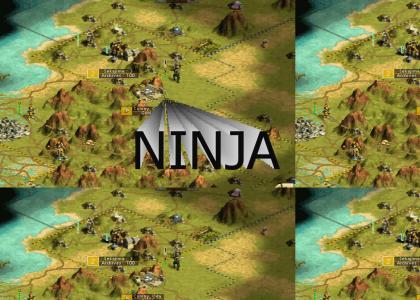 Civ III ninja gets promoted