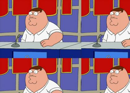 Peter Griffin goes on Jeopardy!