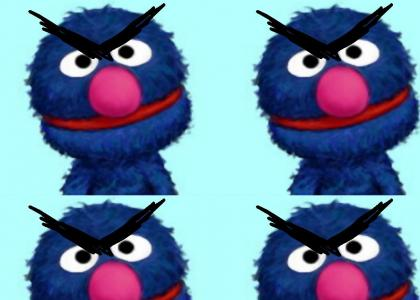 Grover is not Amused