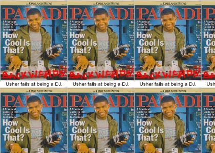 Usher Fails at Being a DJ.