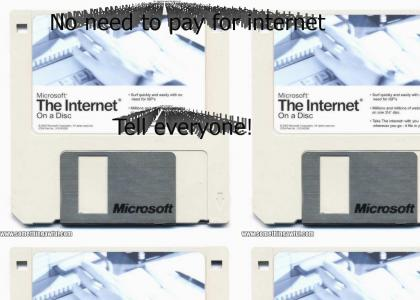 You can buy the internet