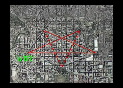 White House = Pentagram