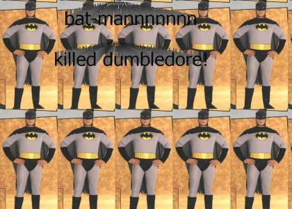 BATMAN killed dumbledore theme song! (let sound load)