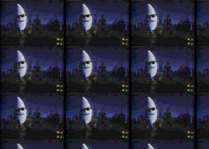 Moon Man lets love get him down