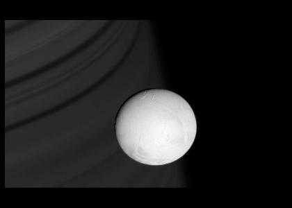 Saturn's amazing moon Enceladus