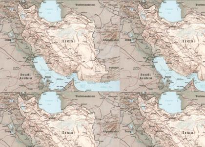 Iran's so far away