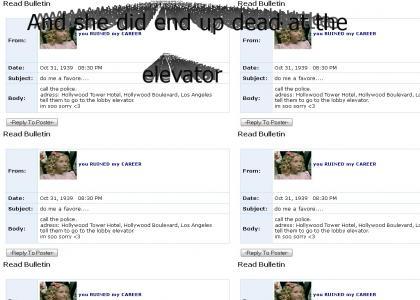 TOTMND: Sally Shine Myspace suicide