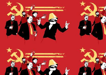 Commies know how to party!