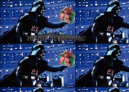 How Vader Knew What Luke Was Getting For Christmas