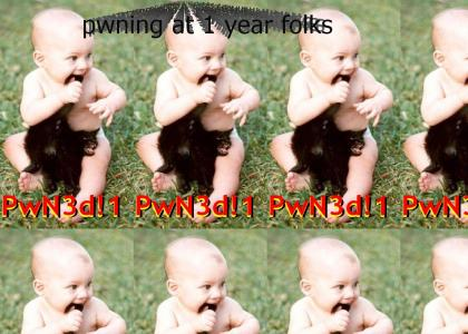 Pwnage starts young