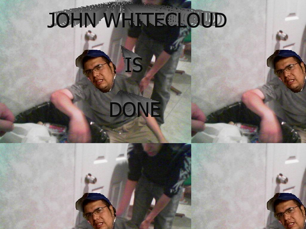 whitecloudisdone