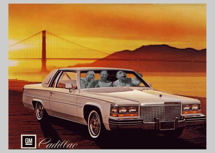 Rejected Cadillac Ad