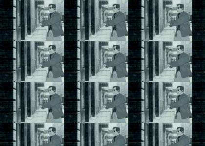 Animated Kung-Fu Rick Astley
