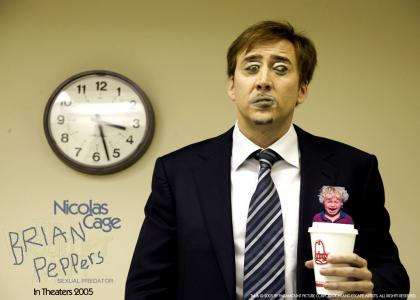 Nicolas Cage is... BRIAN PEPPERS