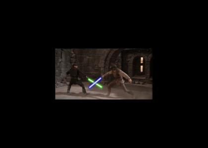 Westley and Inigo's Lightsaber Duel