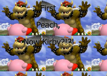 Bowser Rapes Kirby