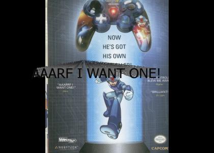 Megaman X Controller Ad