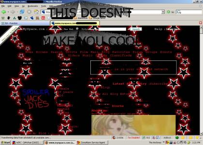 Spoiling Movies on Myspace
