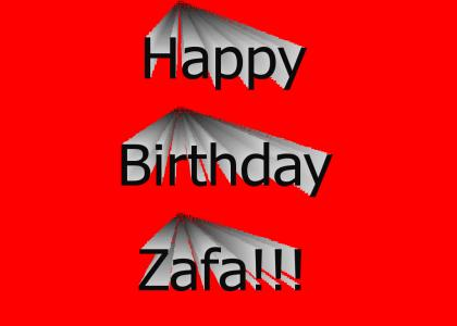Happy Birthday Zafa!!!