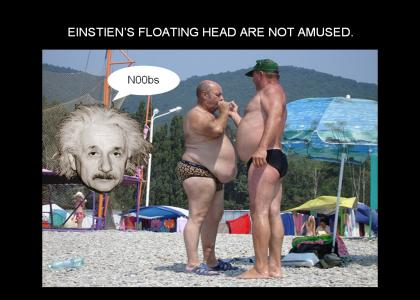 Einstein disapproves