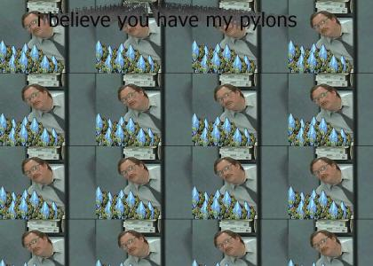 I believe you have my pylons