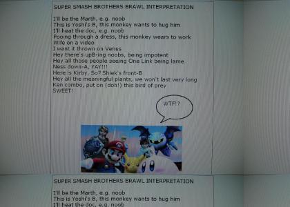 Interpretation - Super Smash Bros. Brawl