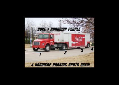 Coke > Handicap People