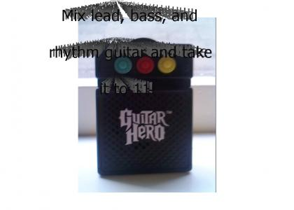 Guitar Hero Marketing Geniuses