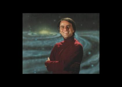 Carl Sagan in Cosmos (Vangelis)