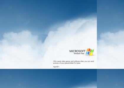 Microsoft Vista's new advertising campaign