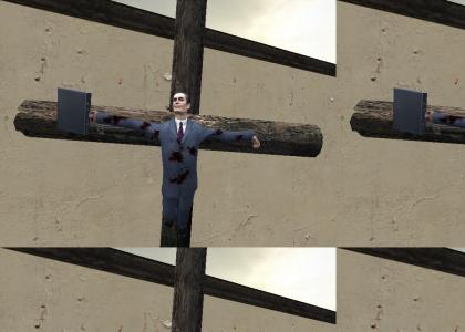 Gman Is Having A Wonderful Crucifiction