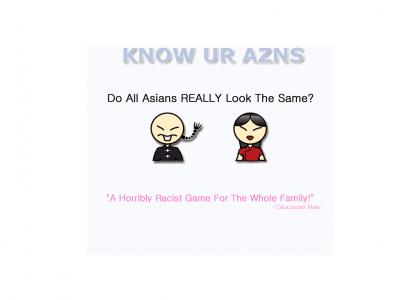 KNOW UR AZNS - The Game