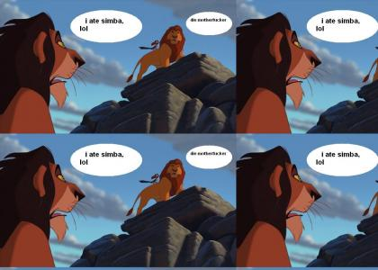 What Scar should of done