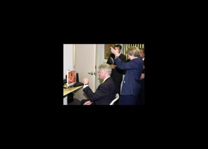 Bill Clinton's wonderful time