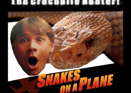 Steve Irwin Snakes on a Plane!